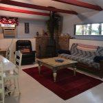 Living Room lake house cottage Moonlight Bay Resort