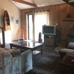 living room The Moose Cottage Moonlight Bay Resort